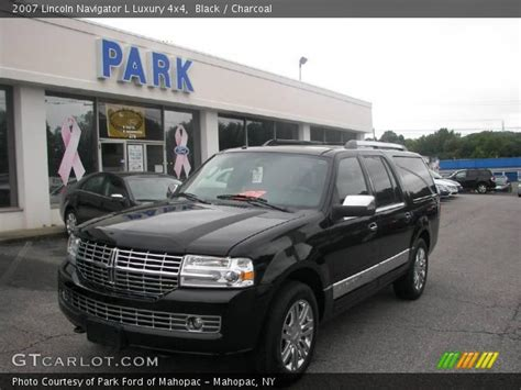electric and cars manual 2007 lincoln navigator l free book repair manuals black 2007 lincoln navigator l luxury 4x4 charcoal interior gtcarlot com vehicle archive