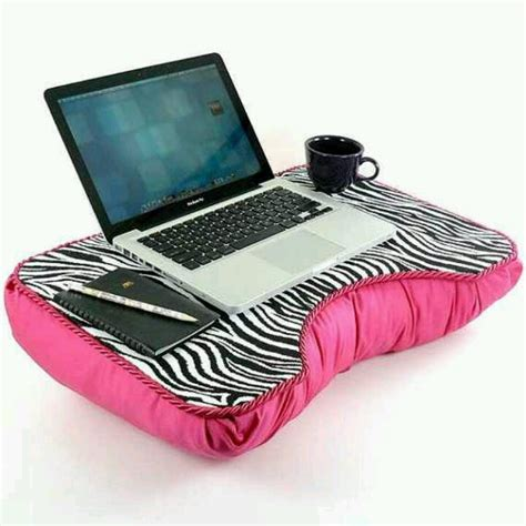 Laptop Pillows by Zebra Pink Laptop Pillow Techs