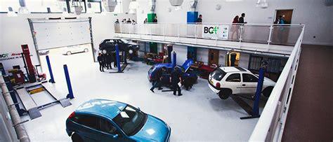Open Car Garage Design motor vehicle workshop bca