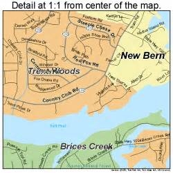 map of new bern carolina map of carolina new bern nc