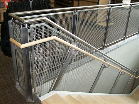 woven wire metal railings exterior   Stainless Steel Mesh