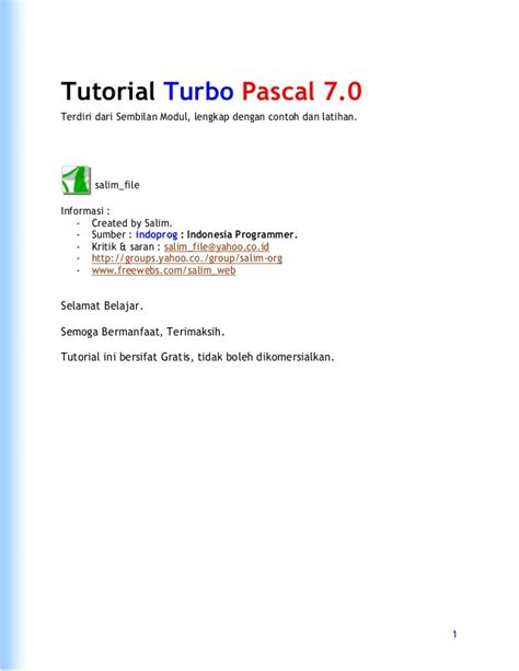 tutorial delphi 7 español pdf ebook pascal pdf