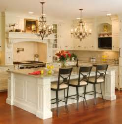 White Kitchen Island by White Island Kitchen Backsplash Ideas One Of 6 Total