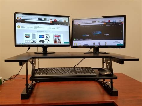 convertible standing desk get the best convertible sit stand desk adjustable
