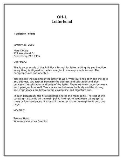 Official Letter Keywords 25 ideias exclusivas de amostra de formato de carta