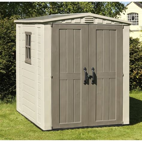 keter sheds keter keter factor shed 6x6 keter from garden store direct uk
