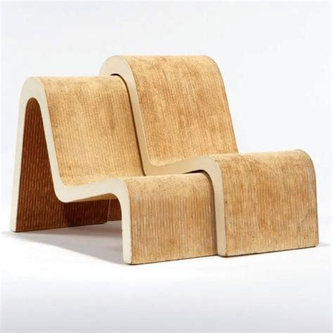 Ghery Chair - frank o gehry pair of nesting chairs chaired nest