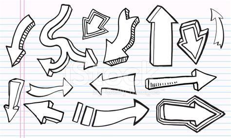 Cute Doodle Arrow Set Stock Vector   FreeImages.com