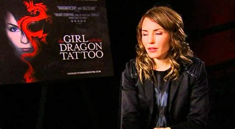 the girl with the dragon tattoo rape scene noomi raplace on the with the