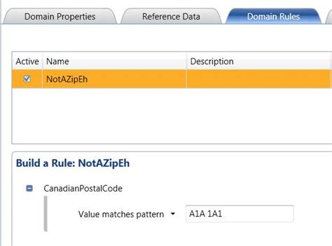 outlook rule pattern matching pattern matching in data quality services domain rules