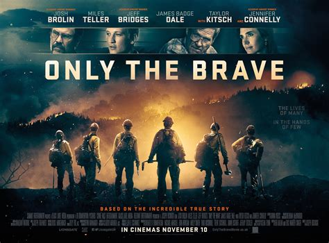 only the brave otb books a new clip uk poster for only the brave land