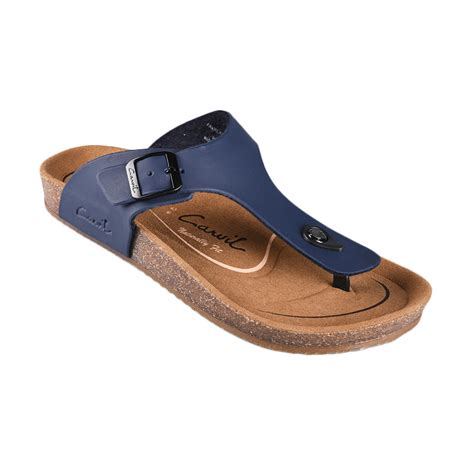 Daftar Sepatu Sandal Carvil jual carvil footbed falkland 01 sandals pria navi