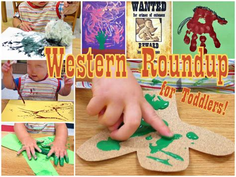 western craft projects princesses pies preschool pizzazz western roundup for