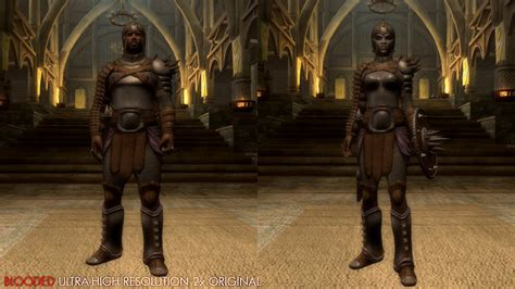 skyrim heavy armor mod blooded heavy armor at skyrim nexus mods and community