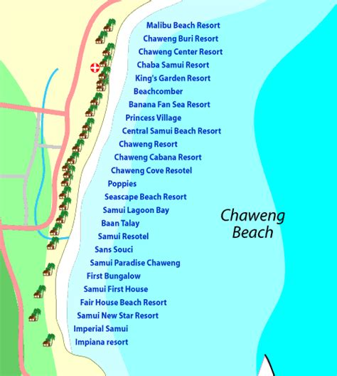 chaweng regent resort hotel map paul and ange s wedding
