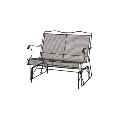 patio loveseat glider arlington house jackson patio loveseat glider 7894000