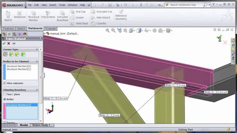 tutorial solidworks weldments solidworks weldments training course overview youtube