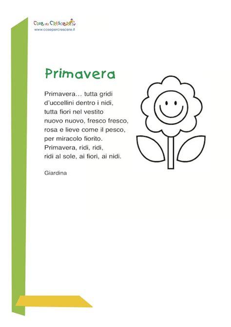 rima con fiori primavera poesia di giardina