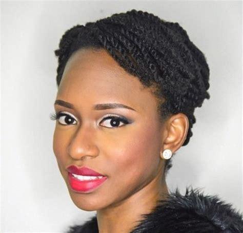 very short hair twist on older women 40 kinky twists styles you must try