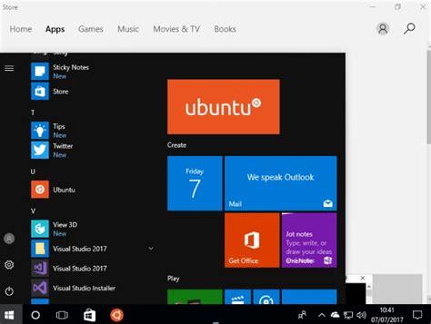 ubuntu windows canonical windows 10 loves ubuntu