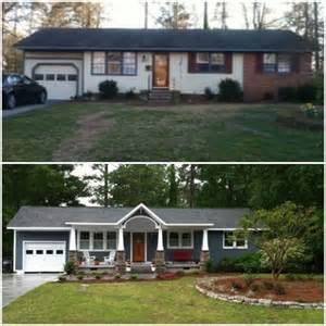 Before after home covered porches and before after on pinterest