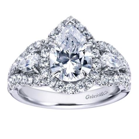 7 best images about pear shaped engagement rings on