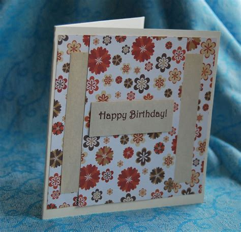 Handmade Greetings Cards Uk - happy birthday handmade cards