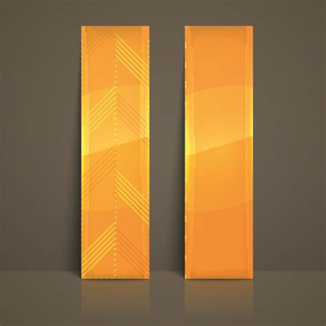 colored vertical banner vector 04 vector banner free