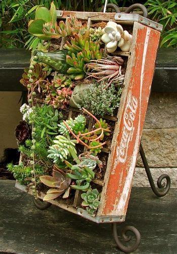 decorare cassette di legno decorare il giardino con le cassette di legno 20 idee