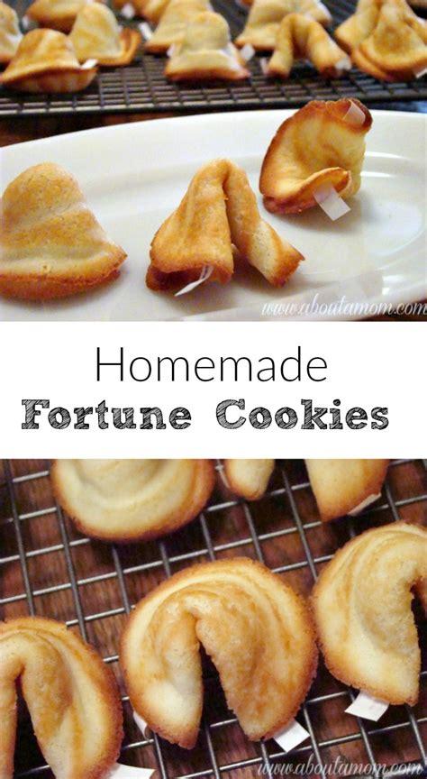 Handmade Fortune Cookies - fortune cookies recipe