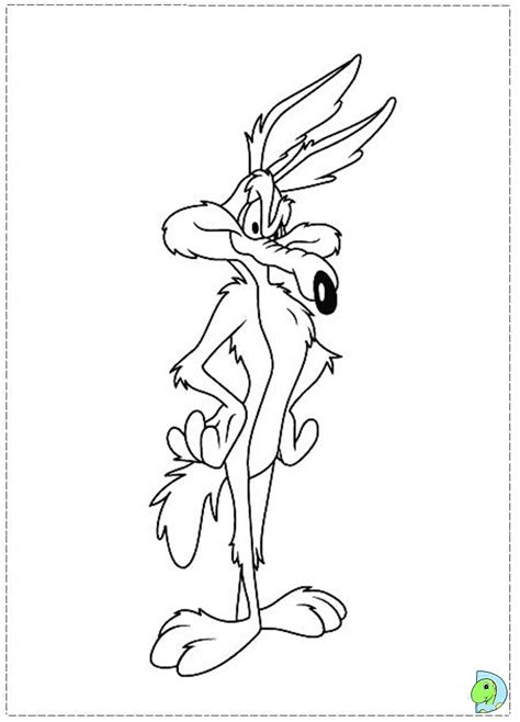 Wile E Coyote Coloring Pages Free Coloring Pages Of Baby Wile E Coyote