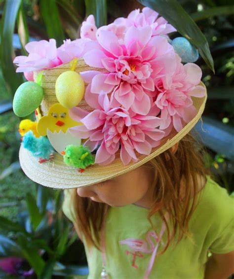 cool easter bonnet or hat ideas 2017