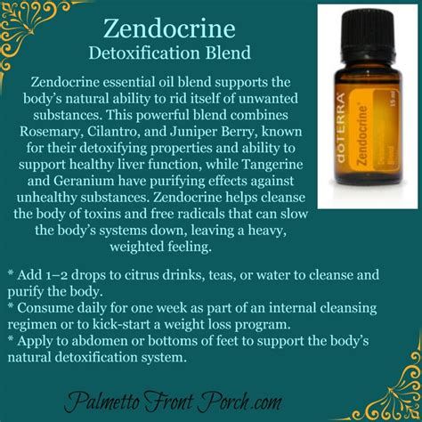 Emotional Detox Essential Oils by Zendocrine Detoxification Blend Essential Http
