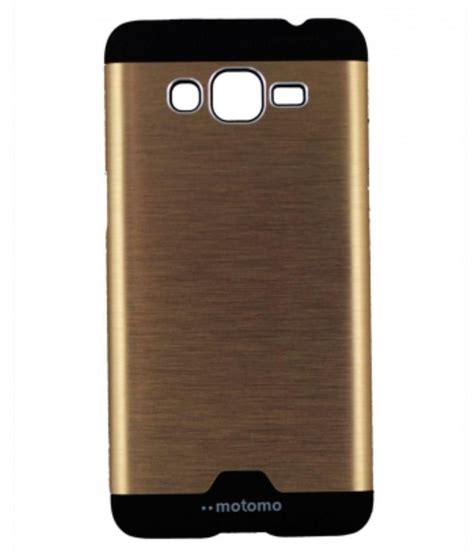 Motomo Samsung Grand 1 new motomo aluminium metal brushed back cover for samsung galaxy grand prime golden