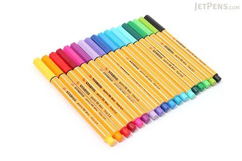 stabilo point 88 mini fineliner marker pen 0 4 mm 18