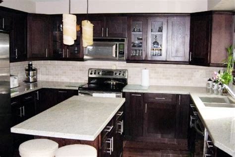 Chocolate Shaker Kitchen Cabinets Pictures