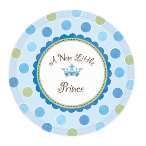 little prince new baby boy decorations, balloons