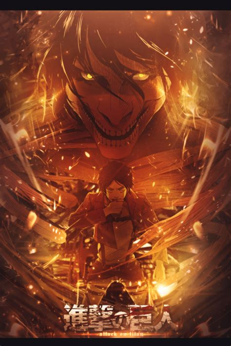 eren jaeger transformation  titan art id  art