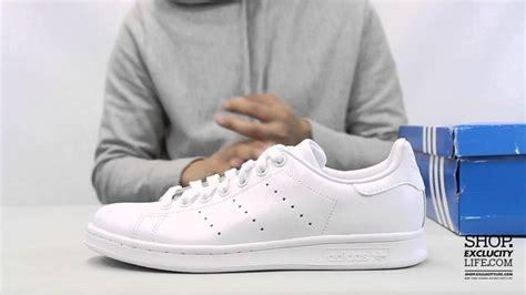 Sepatu Adidas Stanssmith White adidas stan smith white white unboxing at exclucity