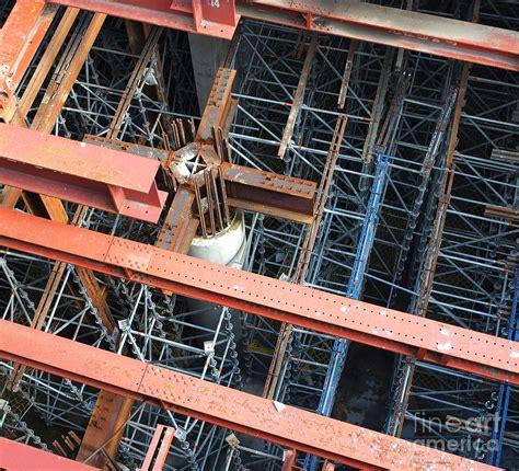 underground vault by yali shi subway construction site photograph by yali shi