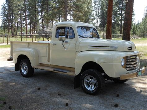 1950 Ford F100 Pickup Truck   4x4 Conversion   Vintage