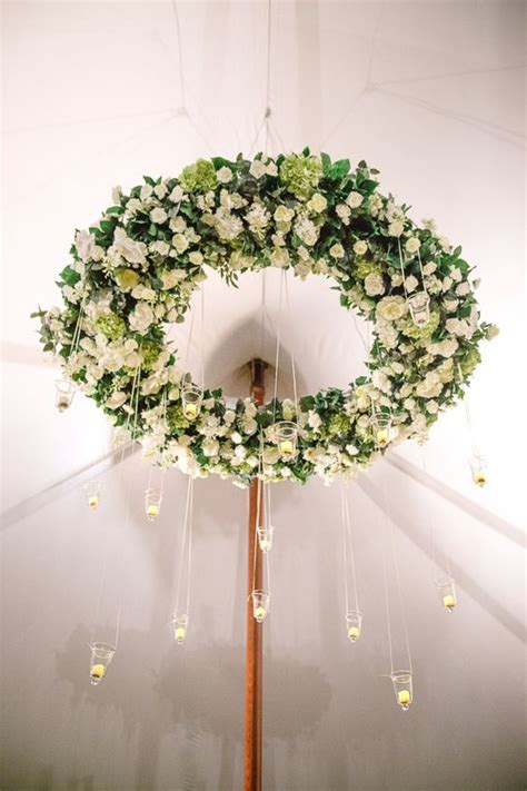 chandelier with flowers 29 gorgeous wedding floral chandeliers that will your