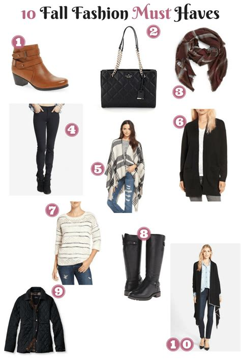 Top 10 Fashion Must Haves Of 2007 by Fall 2016 Fashion Must Haves The Diaries