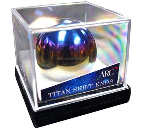 Arc Titanium Shift Knob by Jdm Arc Titan Polished Titanium Shift Knob Road Co