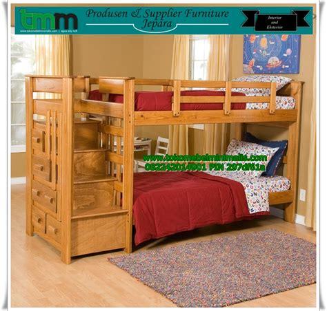 Tempat Tidur Minimalis Murah tempat tidur anak tingkat 2 toko mebel minimalis