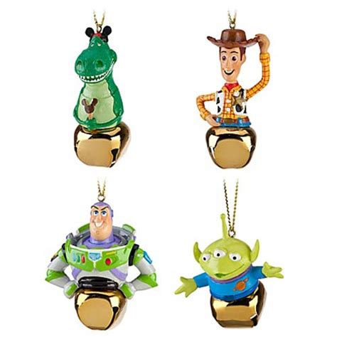 your wdw store disney christmas ornament set jingle