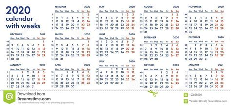 calendar grid  weeks illustration stock illustration illustration   monday