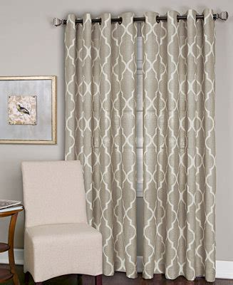 jcpenney linen curtains elrene linen medalia 52 quot x 95 quot panel window treatments