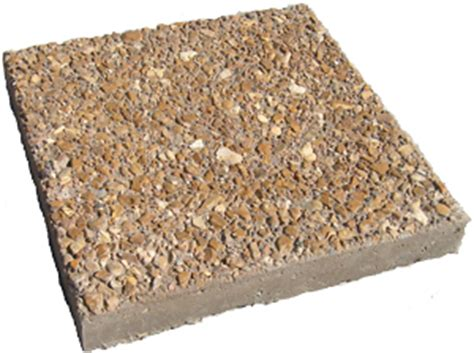 Exposed Aggregate Patio Stones by Stepping Stones Stairs Column Caps Coping Patio Town