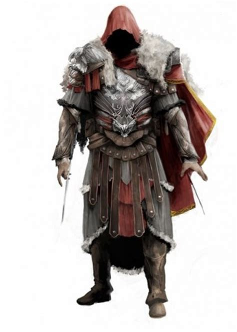 altair's armor vs. armor of brutus assassin's creed